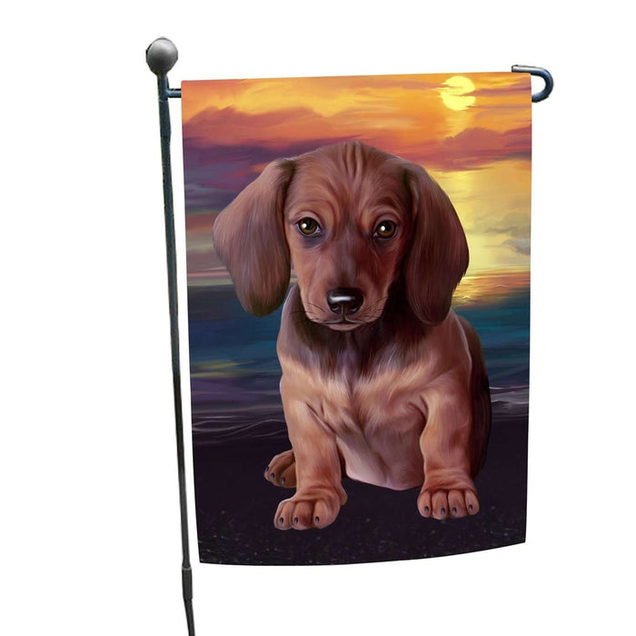 Dachshund Dog Garden Flag