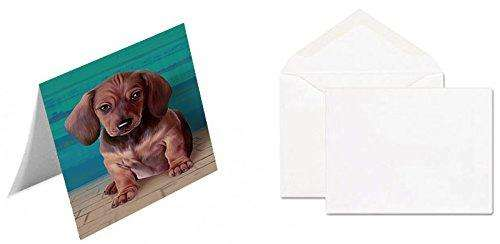 Dachshund Dog Note Card