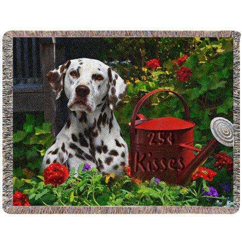 Dalmatian Woven Throw Blanket 54 x 38 25 Cent Kisses