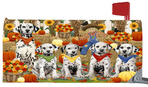 Magnetic Mailbox Cover Harvest Time Festival Day Dalmatians Dog MBC48039