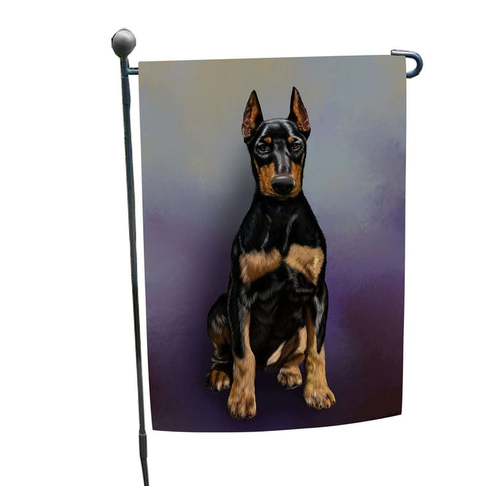 Doberman Pinscher Dog Garden Flag