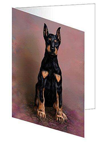 Doberman Pinscher Dog Note Card