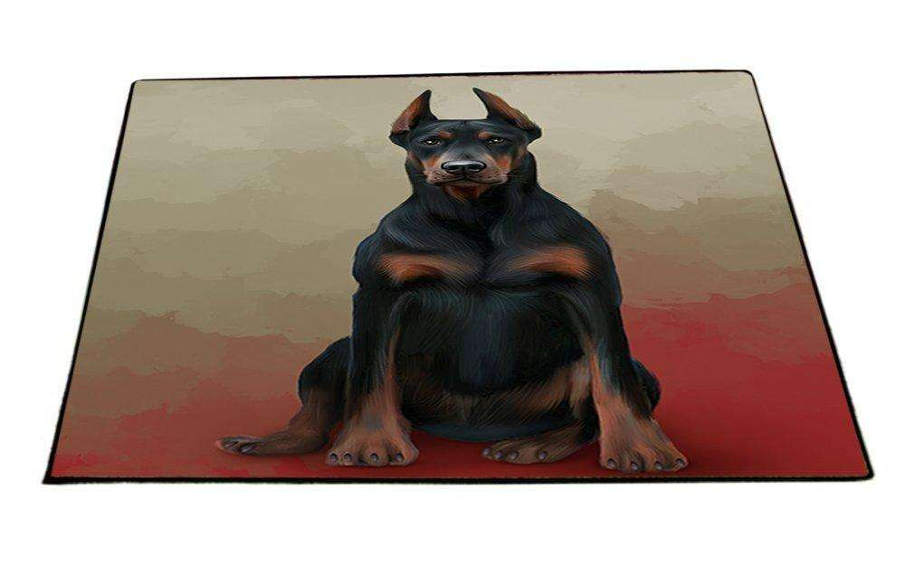 Doberman Pinschers Dog Indoor/Outdoor Floormat D129