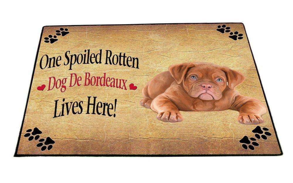 Dog De Bordeaux Spoiled Rotten Dog Indoor/Outdoor Floormat