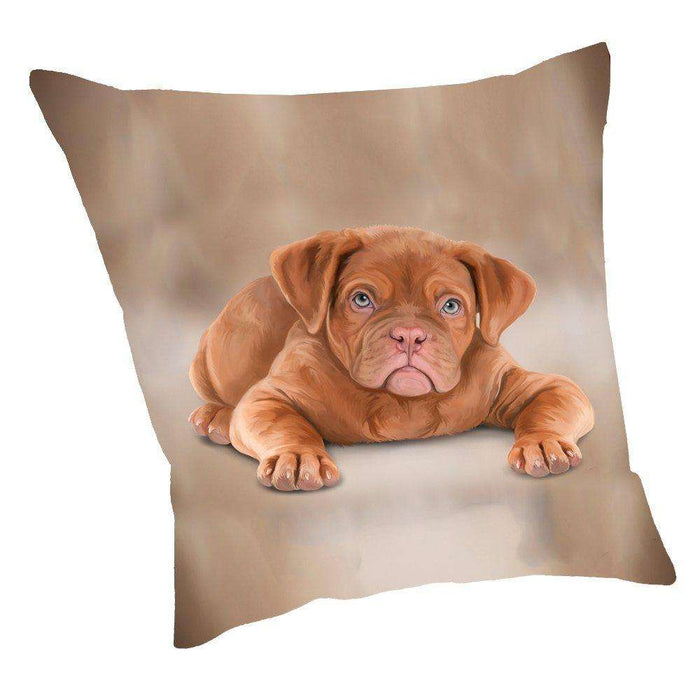 Dogue De Bordeaux Dog Throw Pillow D016