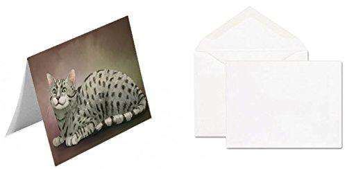Egyptian Mau Cat Greeting Card