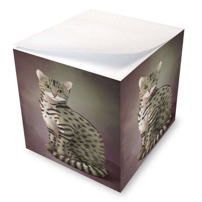 Egyptian Mau Cat Note Cube