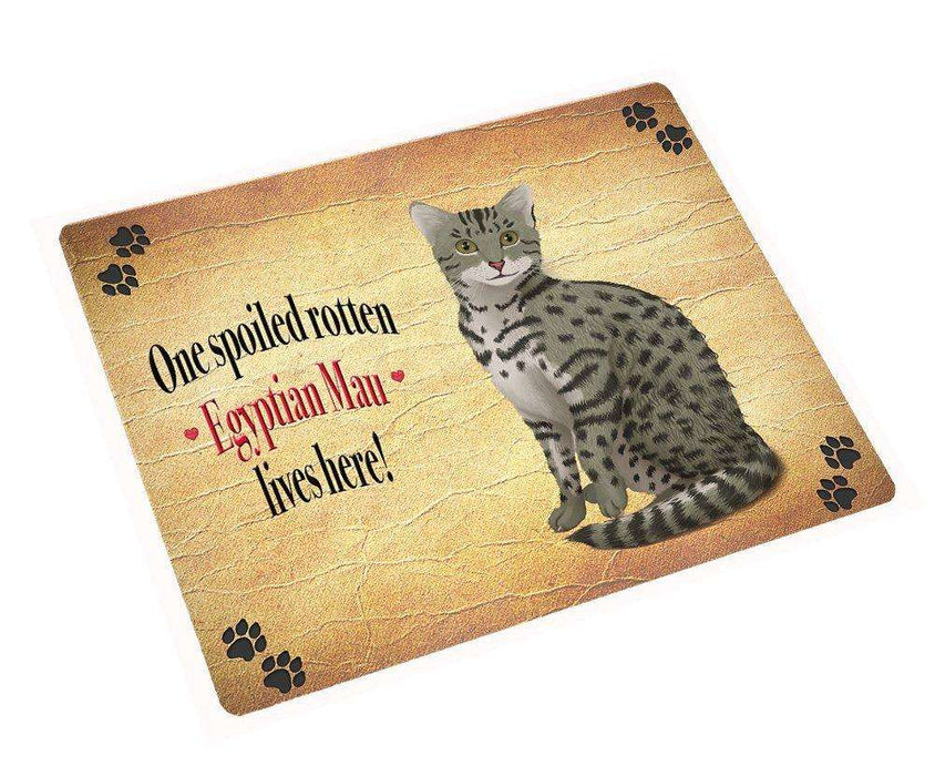 Egyptian Mau Spoiled Rotten Cat Magnet