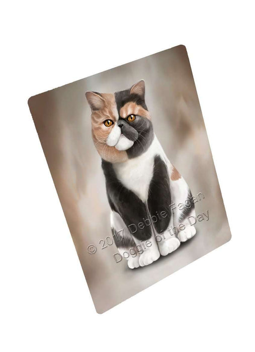 Exotic Shorthair Cat Large Refrigerator / Dishwasher Magnet D024