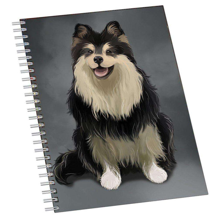 Finnish Lapphund Dog Notebook