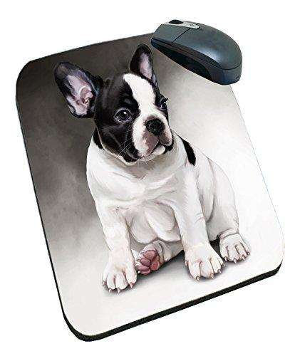 French Bulldog Dog Art Portrait Print Mousepad