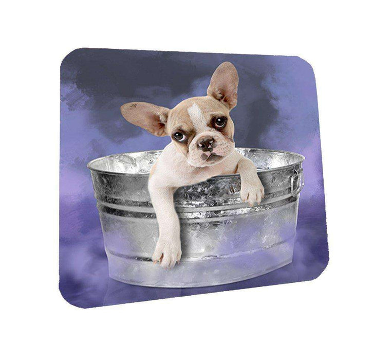 French Bulldog Dog Coasters Set of 4