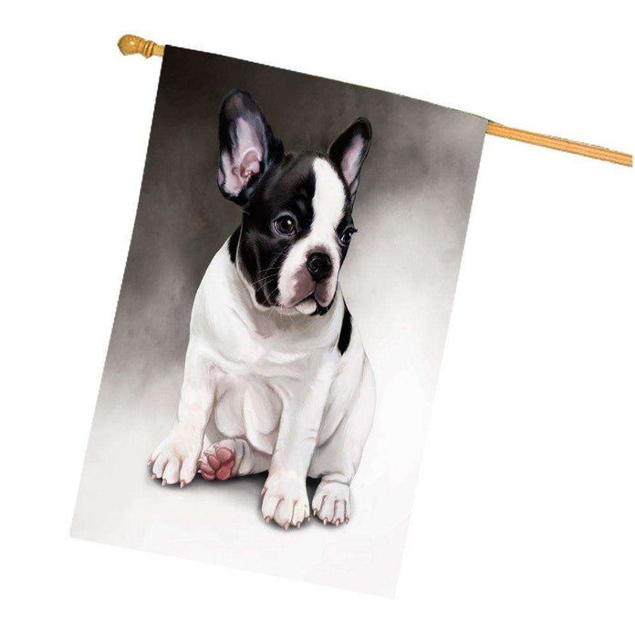 French Bulldog Dog House Flag HF010