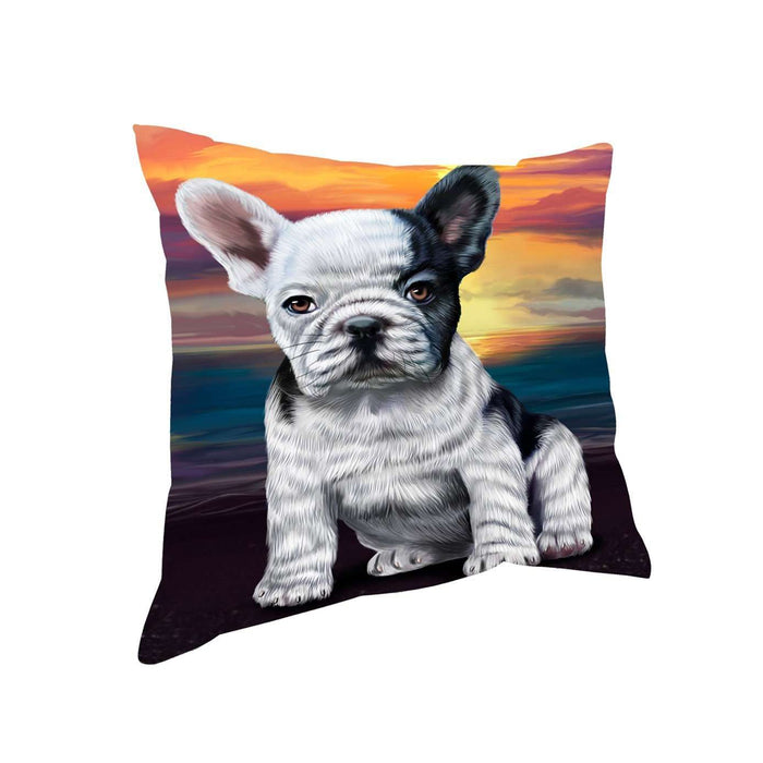 French Bulldogs Dog Throw Pillow