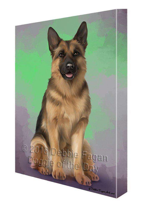 German Shepherds Dog Canvas Wall Art CV091