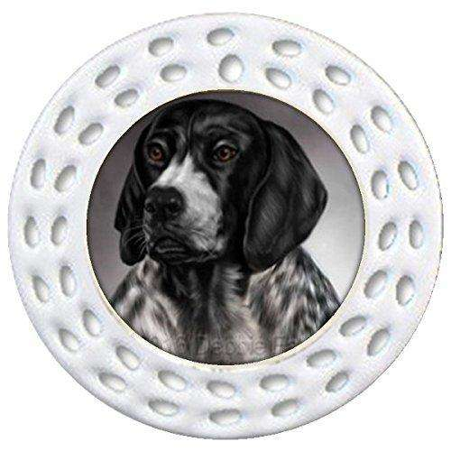 German Shorthaired Pointers Dog Art Portrait Print Christmas Holiday Ornament