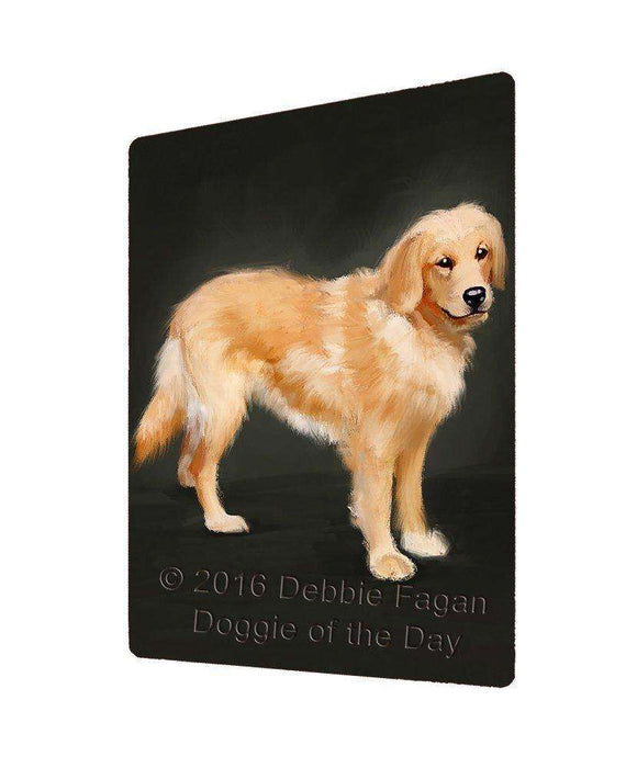 Golden Retriever Dog Art Portrait Print Woven Throw Sherpa Plush Fleece Blanket