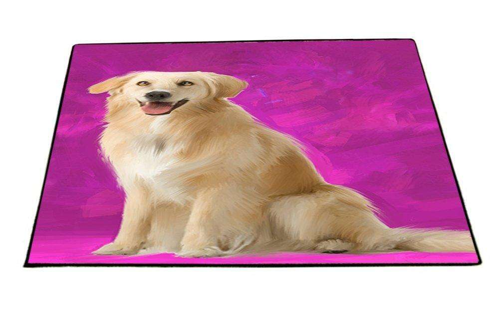 Golden Retriever Dog Indoor/Outdoor Floormat D182