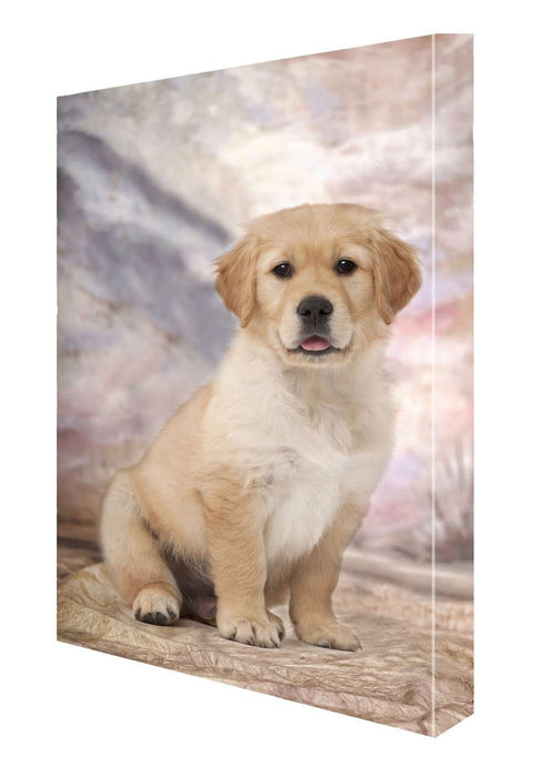 Golden Retriever Puppy Canvas 18 x 24