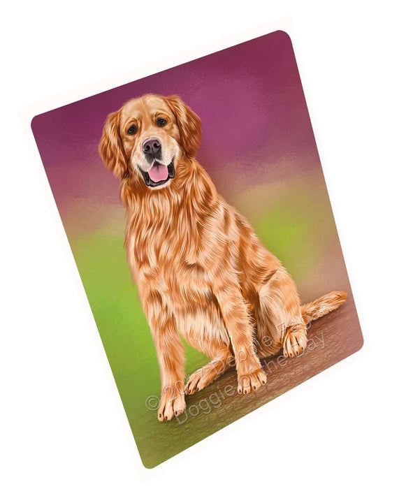 Golden Retrievers Adult Dog Magnet