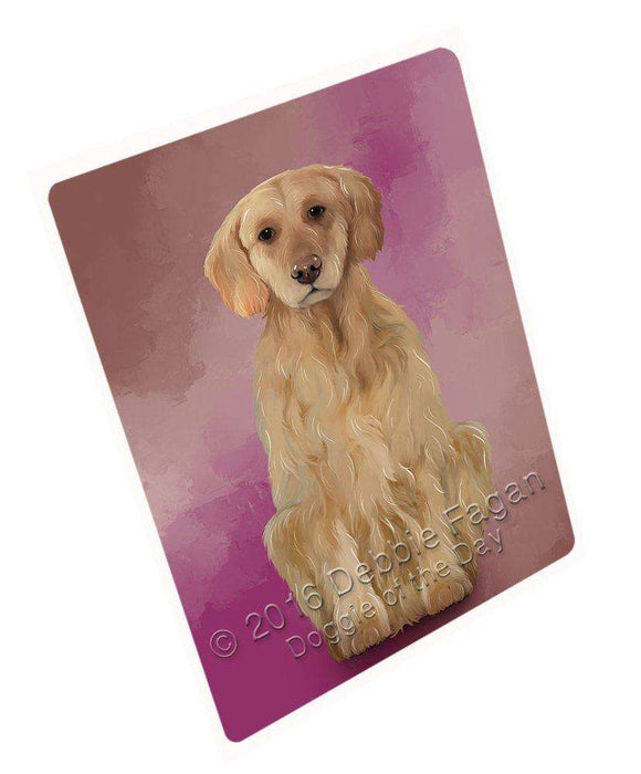 Golden Retrievers Dog Art Portrait Print Woven Throw Sherpa Plush Fleece Blanket D166