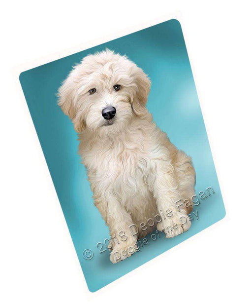Goldendoodle Dog Cutting Board C59517