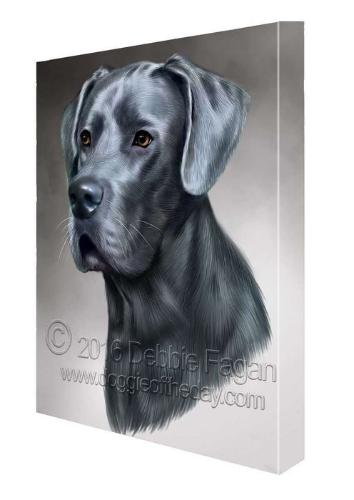 Great Dane Dog Art Portrait Print Canvas