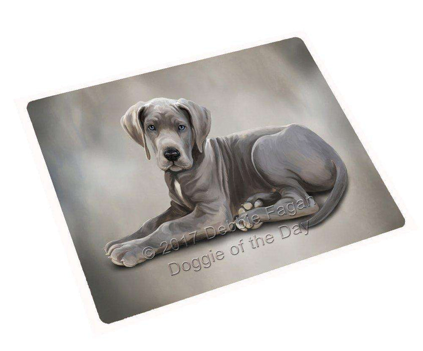 Great Dane Dog Art Portrait Print Woven Throw Sherpa Plush Fleece Blanket D005