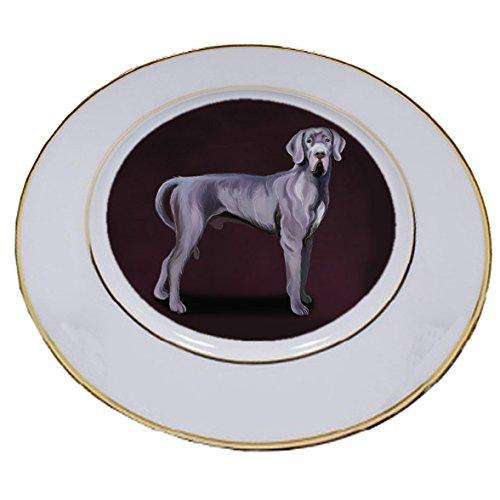 Great Dane Dog Porcelain Plate