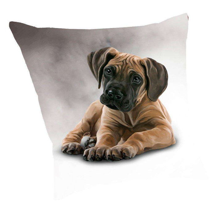 Great Dane Dog Throw Pillow D020