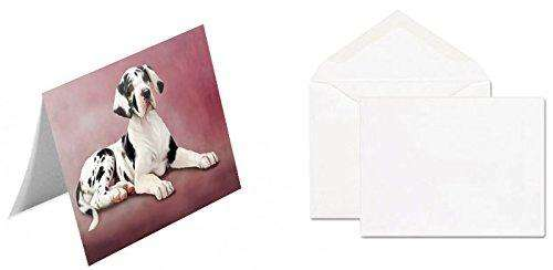 Great Dane Puppy Dog Note Card