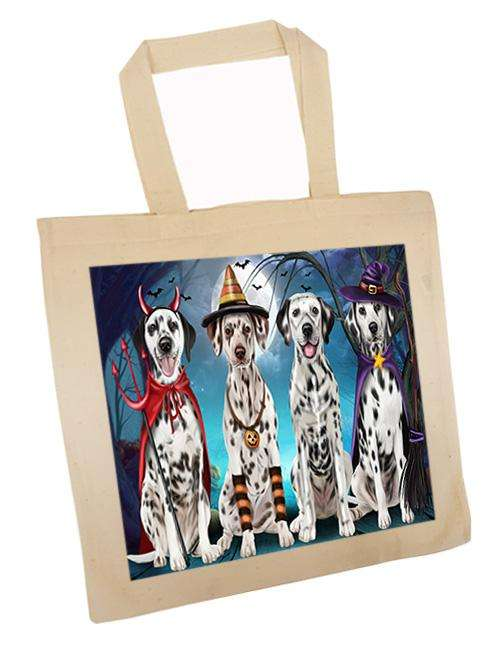 Happy Halloween Trick or Treat Dalmatian Dog Tote TTE52581