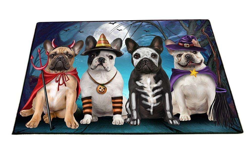 Happy Halloween Trick or Treat French Bulldog Indoor/Outdoor Floormat