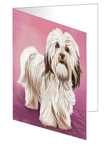 Havanese Dog Greeting Card