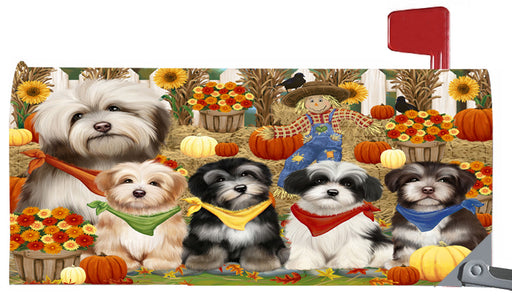 Magnetic Mailbox Cover Harvest Time Festival Day Havaneses Dog MBC48048