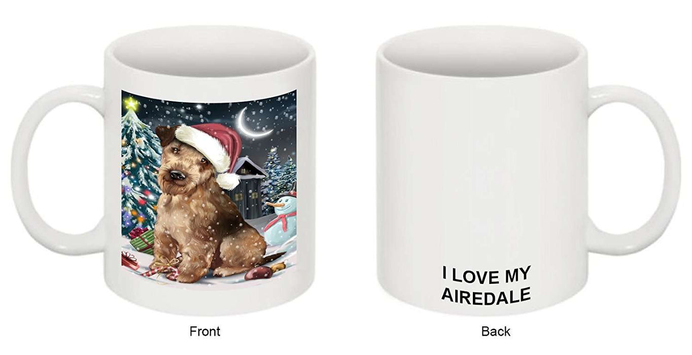 Have a Holly Jolly Airedale Dog Christmas Mug CMG0151
