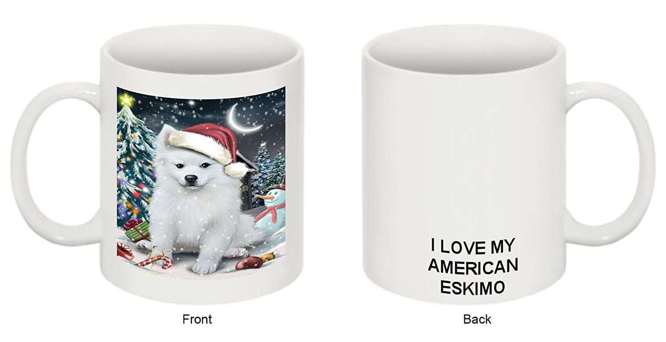 Have a Holly Jolly American Eskimo Dog Christmas Mug CMG0231