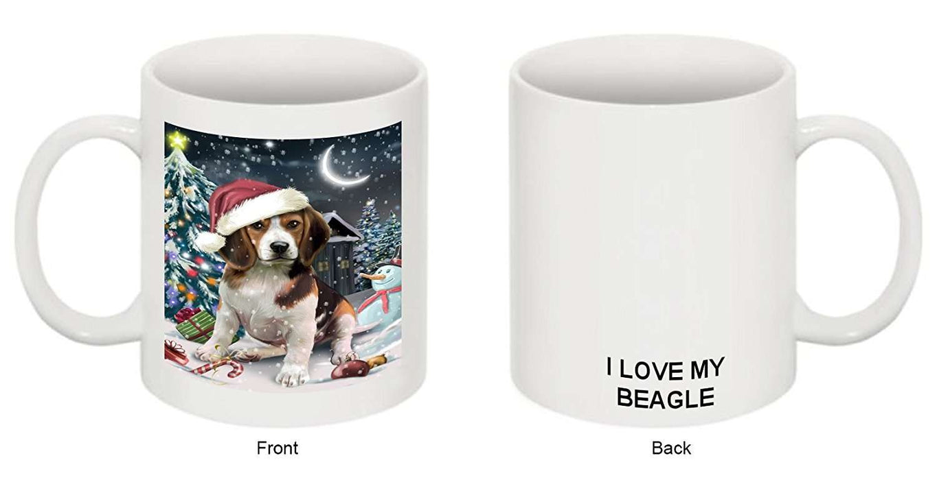 Have a Holly Jolly Beagle Dog Christmas Mug CMG0161