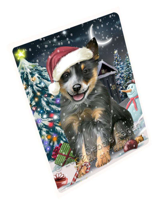 "Have A Holly Jolly Blue Heeler Dog Christmas Magnet Mini (3.5"" x 2"") MAG59175"