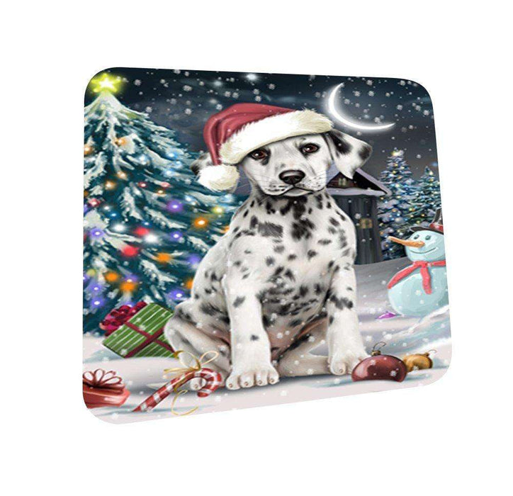 Have a Holly Jolly Dalmatian Dog Christmas Coasters CST149 (Set of 4)