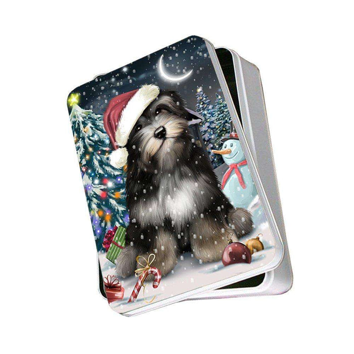Have a Holly Jolly Havanese Dog Christmas Photo Storage Tin PTIN0117