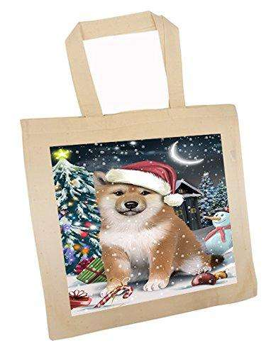 Have a Holly Jolly Shiba Inu Dog Christmas Tote Bag TTB0270