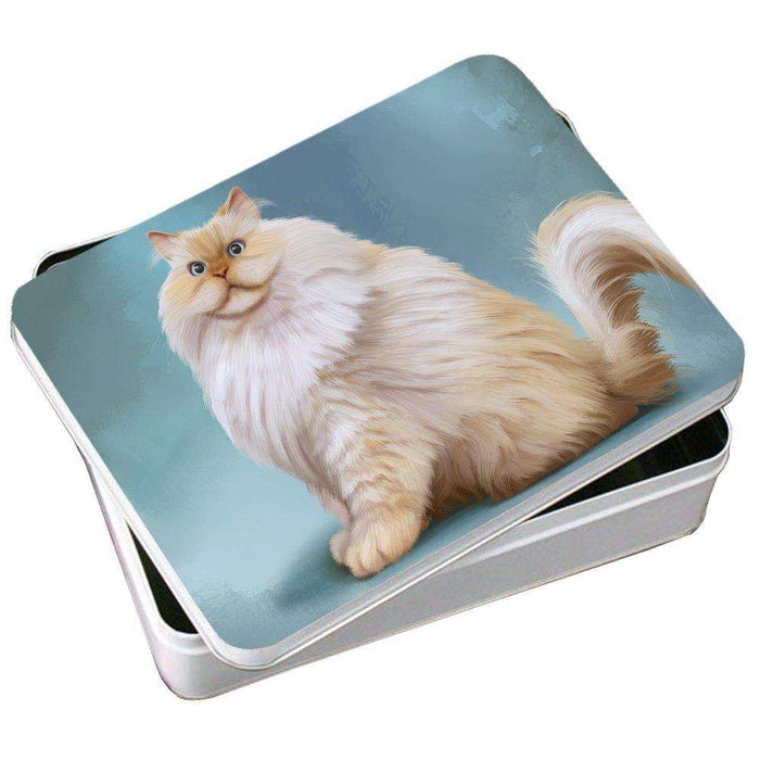 Himalayan Cat Photo Tin