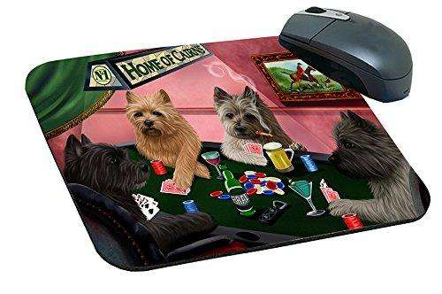 Home of Cairns 4 Dogs Playing Poker Mousepad