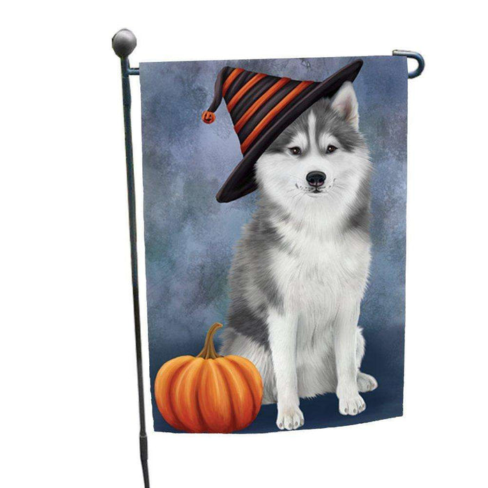 Husky Dog Garden Flag