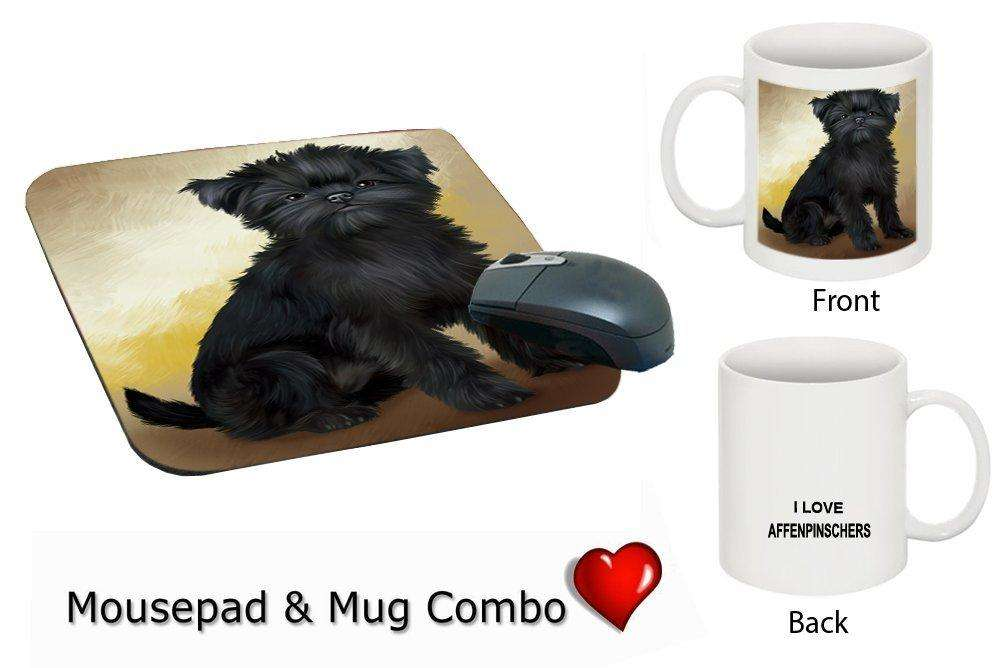 I love Affenpinscher Dog Mug & Mousepad Combo Gift Set MMCG0151