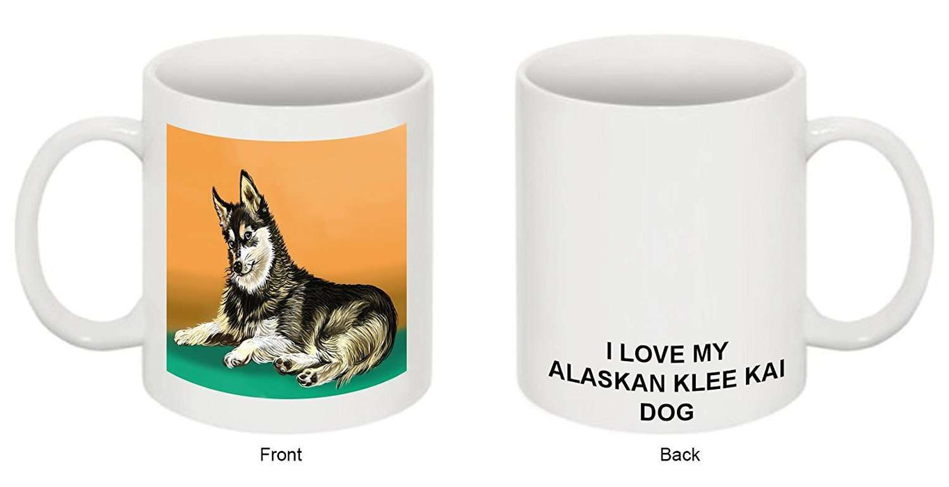 I love My Alaskan Klee Kai Dog Mug