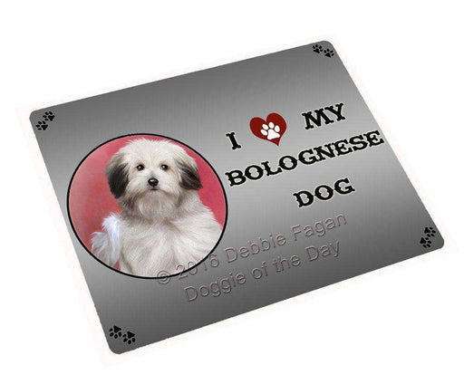 "I Love My Bolognese Dog Magnet Small (5.5"" x 4.25"")"