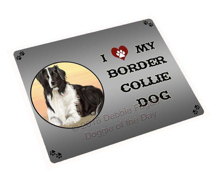 I Love My Border Collie Dog Magnet