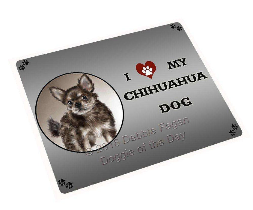 I Love My Chihuahua Puppy Dog Magnet
